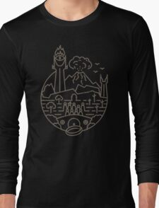 The LOTR (BLK) Long Sleeve T-Shirt