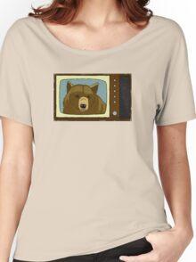 A Bear On TV Women's Relaxed Fit T-Shirt