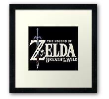 The Legend of Zelda: Breath of the Wild Framed Print