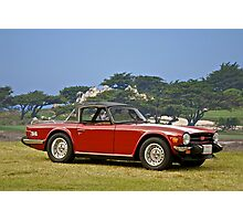 1976 Triumph TR6 Roadster Photographic Print