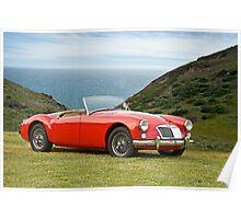 1956 MGA Roadster Poster
