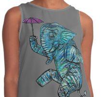 Elephant on Tightrope.   Contrast Tank