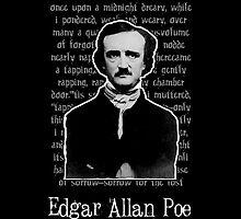 Edgar Allan Poe  by WaywardMuse