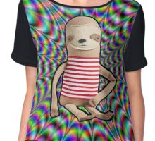 Trippy Sloth no. 2 Chiffon Top