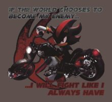 Shadow the Hedgehog - If the world chooses... by Chip Biscuit