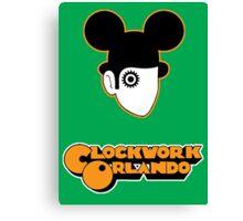 Clockwork Orlando - headshot Canvas Print