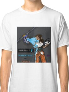 Chell and Wheatley Classic T-Shirt