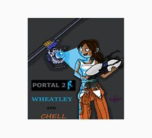 Chell and Wheatley Unisex T-Shirt