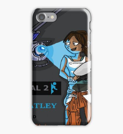 Chell and Wheatley iPhone Case/Skin