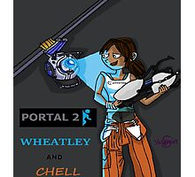Chell and Wheatley Photographic Print