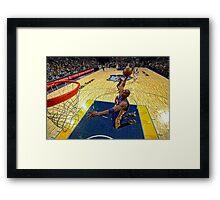 Kobe Dunk Framed Print