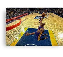 Kobe Dunk Canvas Print