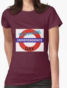 Independence Day Womens Fitted T-Shirt