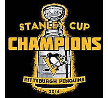 Penguins 2016 Cup Champs Photographic Print