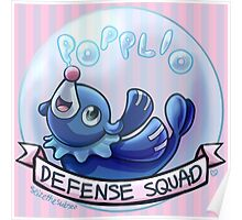 Popplio Defense Squad Poster