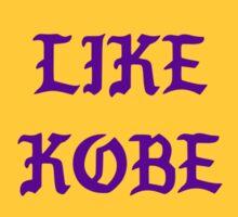 Kanye - I FEEL LIKE Kobe Sticker