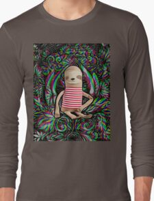 Trippy Sloth no. 3 Long Sleeve T-Shirt