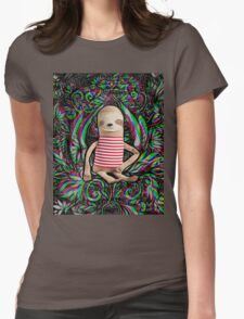 Trippy Sloth no. 3 Womens Fitted T-Shirt