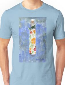 Flowers in a Bottle Unisex T-Shirt