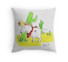 COMING TO TOWN Throw Pillow