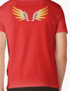 Winged Angel Mens V-Neck T-Shirt