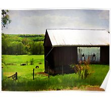 Beautiful Country Setting Poster