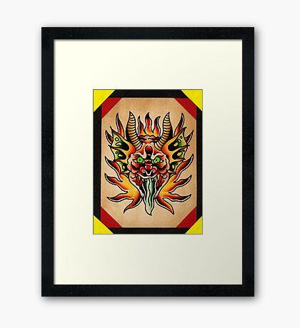 Spitshading 060 Framed Print