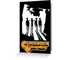 Clockwork Orlando group Greeting Card