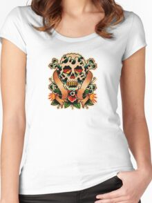Spitshading 059 Women's Fitted Scoop T-Shirt