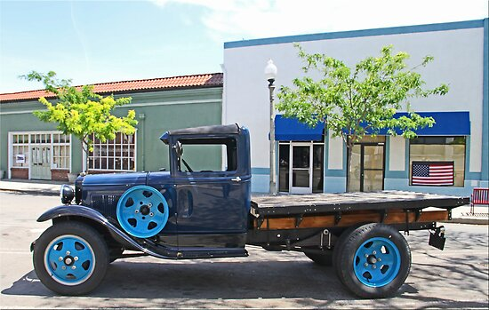 Vintage Flat Bed by Chet  King