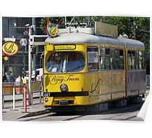 Ring Tram Vienna Austria Poster