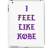 Kanye - I Feel Like Kobe iPad Case/Skin