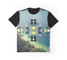 Beach Abstraction Graphic T-Shirt