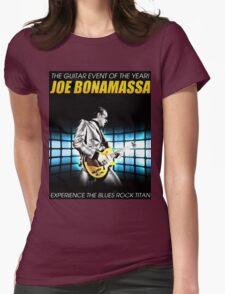 joe bonamassa experience the blues rock titan Womens Fitted T-Shirt