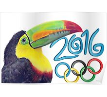 The olympic toucan Poster
