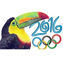 The olympic toucan Photographic Print