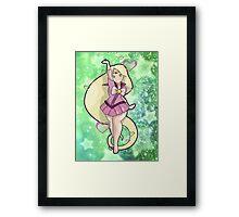 Sailor Rapunzel Framed Print