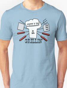 Grillin' & Chillin' BBQ Fun T-Shirt
