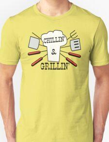 Grillin' & Chillin' BBQ Fun T-Shirt