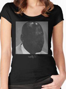 Schoolboy Q - Blank Face Jordan Women's Fitted Scoop T-Shirt