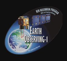 Earth Observing-1 Mission (EO-1) Program Logo One Piece - Long Sleeve
