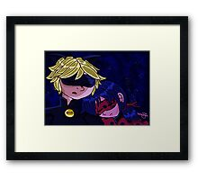 It's Tough Being a Superhero Framed Print