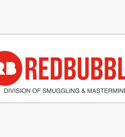 Division of Smuggling & Masterminding Sticker