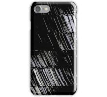 Graphite abstraction iPhone Case/Skin
