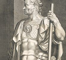 Sergius Galba Emperor of Rome by Bridgeman Art Library