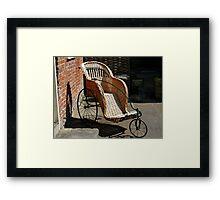 Willow Transport ....... Framed Print