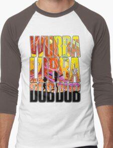 Wubba lubba dub dub Men's Baseball ¾ T-Shirt