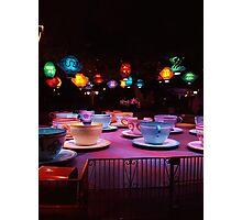 Alice In Wonderland Tea Cups Photographic Print