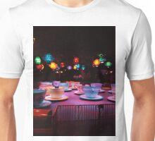 Alice In Wonderland Tea Cups Unisex T-Shirt