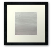 When Skies Are Cloudy Framed Print